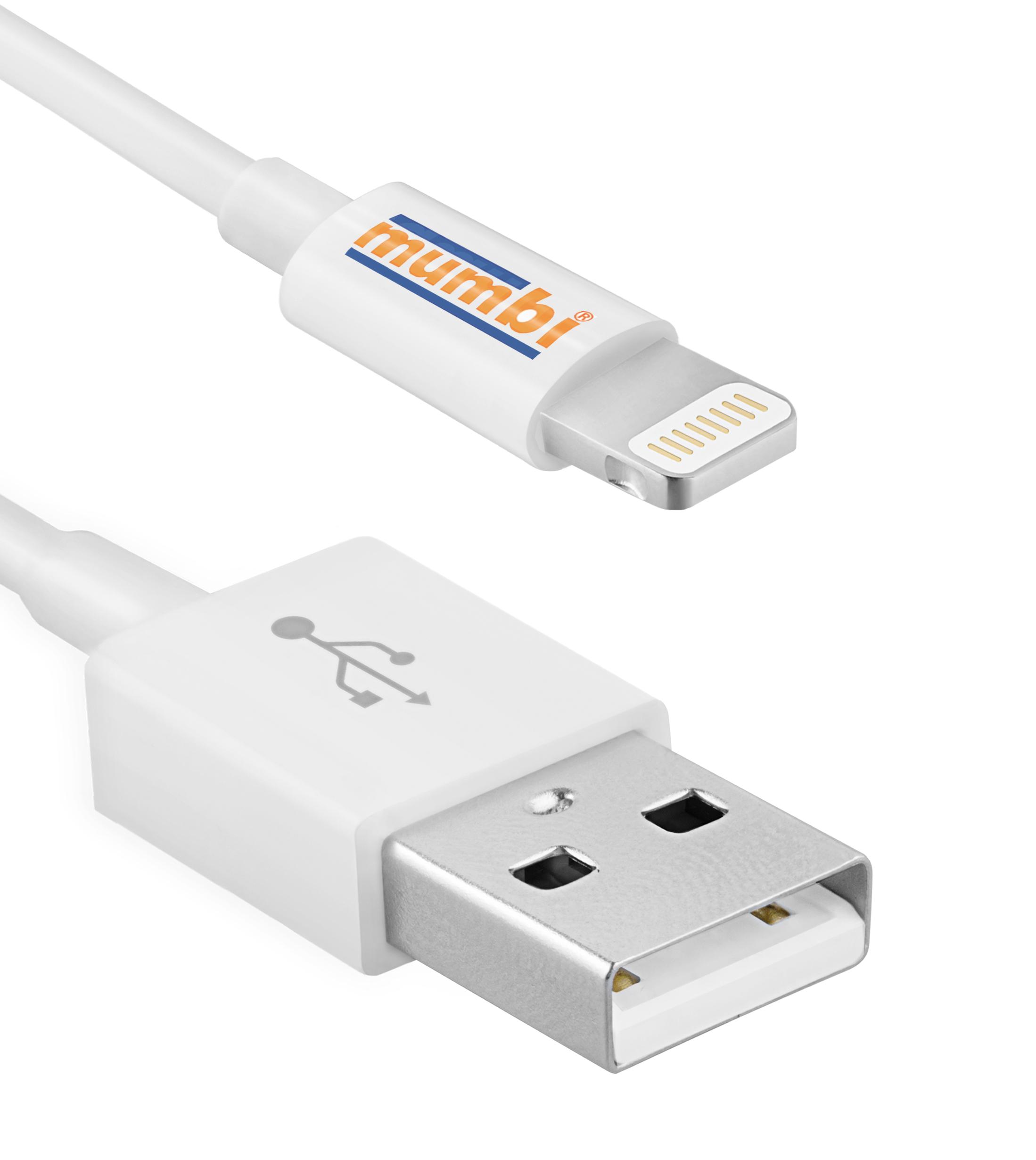 mumbi usb lightning kabel iphone 8 7 6 6s 5 5s ipad apple. Black Bedroom Furniture Sets. Home Design Ideas