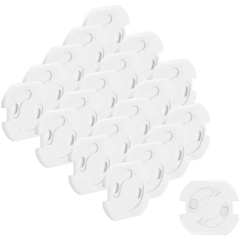 mumbi 20x Steckdosensicherung Kindersicherung Kinderschutz Schuko Steckdosen
